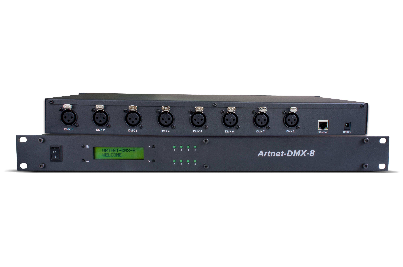 Artnet to DMX Node VENUS 16;artnet input;16x512 DMX512
